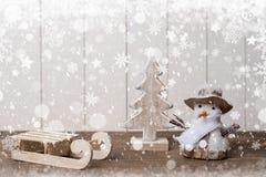 Fondo di vacanze invernali Immagine Stock