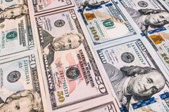 Fondo di valuta dei dollari degli Stati Uniti d'America, fondi U.S.A. Fotografia Stock Libera da Diritti