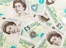 Fondo di valuta della libbra Immagine Stock