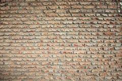 Fondo di vecchio muro di mattoni d'annata Fotografie Stock Libere da Diritti