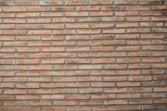 Fondo di vecchio muro di mattoni d'annata Immagini Stock Libere da Diritti