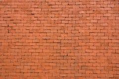 Fondo di vecchio muro di mattoni d'annata rosso Fotografia Stock
