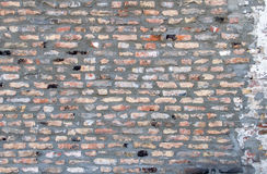 Fondo di vecchio muro di mattoni del gundge Fotografia Stock Libera da Diritti