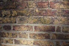 Fondo di vecchio muro di mattoni d'annata immagini stock