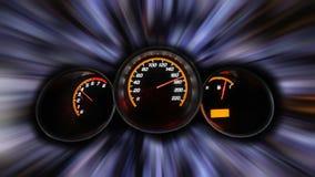 Fondo di velocità del Motorsport Fotografia Stock