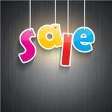 Fondo di vendita Immagini Stock Libere da Diritti