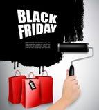 Fondo di vendita di Black Friday Vettore Fotografia Stock Libera da Diritti