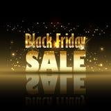 Fondo di vendita di Black Friday Immagini Stock Libere da Diritti