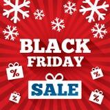 Fondo di vendita di Black Friday. Fondo di Natale Royalty Illustrazione gratis