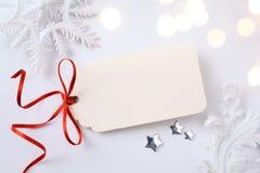 Fondo di vendita di feste di Art Christmas Fotografie Stock Libere da Diritti