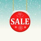 Fondo di vendita di inverno Illustrazione di Stock
