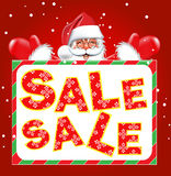 Fondo di vendita di Natale Immagini Stock Libere da Diritti