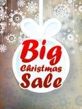 Fondo di vendita di Natale. + EPS10 Fotografia Stock