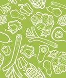 Fondo di verdure sano Immagine Stock
