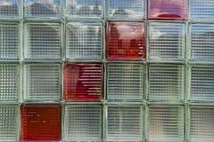 Fondo di vetro (contesto) con struttura quadrata Fotografia Stock Libera da Diritti