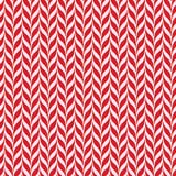 Fondo di vettore dei bastoncini di zucchero Modello senza cuciture di natale con le bande rosse e bianche del bastoncino di zucch Fotografia Stock