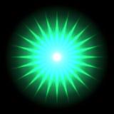 Fondo 33 di vettore del chiarore della lente Fotografia Stock