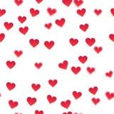 Fondo di vettore del cuore Fotografia Stock Libera da Diritti