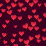 Fondo di vettore del cuore Fotografia Stock