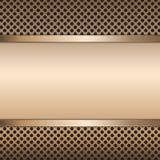 Fondo di vettore del metallo dell'acciaio inossidabile Fotografia Stock