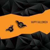 Fondo di vettore di Halloween per i bambini adorable illustrazione di stock