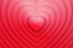Fondo di vettore di simbolo di amore del cuore Immagini Stock