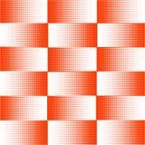 Fondo di vettore, quadrati arancio di semitono di astrazione Reticolo royalty illustrazione gratis