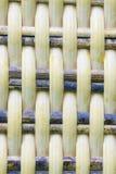 Fondo di vimini di struttura dettaglio di struttura senza cuciture del tessuto Immagini Stock