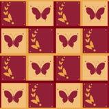 Fondo di volata delle farfalle Immagini Stock Libere da Diritti