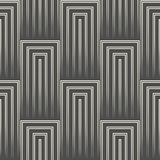 Fondo diagonal abstracto de la raya modelo cuadrado inconsútil 3d Fotos de archivo libres de regalías