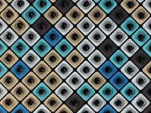 Fondo diagonal abstracto del modelo de la representación de las cajas coloreadas 3D Imagenes de archivo