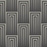 Fondo diagonale astratto della banda modello quadrato senza cuciture 3d Fotografie Stock Libere da Diritti