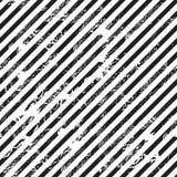 Fondo diagonale in bianco e nero della banda Fotografia Stock