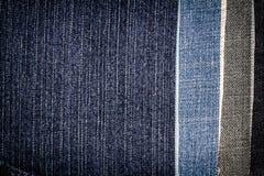 Fondo differente astratto di struttura delle bande dei jeans immagine stock libera da diritti