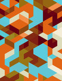 Fondo digital abstracto Fotografía de archivo libre de regalías