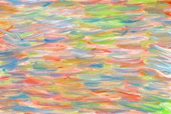 Fondo digital abstracto de la pintura de aceite Foto de archivo