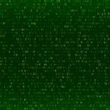 Fondo digital abstracto del código binario Foto de archivo