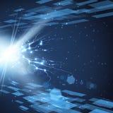 Fondo digital de la tecnología Imágenes de archivo libres de regalías