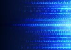 Fondo digital de la tecnología abstracta, ejemplo del vector Foto de archivo libre de regalías