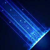 Fondo digital de la tecnología abstracta, ejemplo del vector Imagenes de archivo