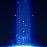 Fondo digital de la tecnología abstracta, ejemplo del vector Fotografía de archivo libre de regalías