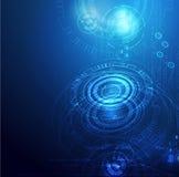 Fondo digital de la tecnología global Stock de ilustración