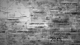 Fondo digital del programa del código de ordenador ilustración del vector