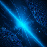 Fondo digital futurista con el espacio para el texto Imágenes de archivo libres de regalías