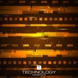Fondo digital futurista Concepto del camino Imagenes de archivo