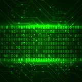 Fondo digital futurista Ejemplo para su negocio, ciencia, ilustraciones de la tecnología de la tecnología Imagen de archivo libre de regalías