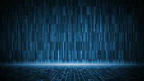 Fondo digitale astratto della matrice illustrazione vettoriale
