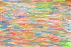Fondo digitale astratto della pittura ad olio Fotografia Stock