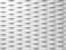 Fondo digitale bianco astratto, modello 3d Immagine Stock