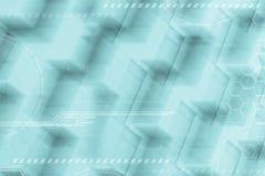 Fondo digitale futuristico astratto Concetti di comunicazione e di affari globali con lo spazio vuoto della copia immagine stock libera da diritti